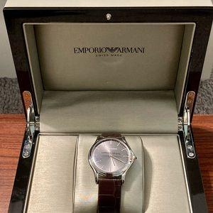 Emporio Armani Swiss Made Watch